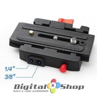 P200 Quick Release Clamp QR Plate for Manfrotto 501 500AH 701HDV 503HD