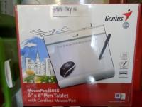 Tablet Genius Mouse Pen i608x untuk Menggambar Hand Writing Design