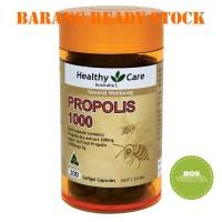 READY STOCK - Healthy Care Propolis 1000mg - 200 kapsul