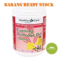 READY STOCK - Healthy Care Evening Primrose Oil 1000mg 400 kapsul