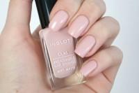 Inglot Soft Matte no 507 - Kutek Halal O2M Breathable Nail Polish
