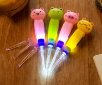 Earpick Cartoon Korek Kuping Telinga Karakter Lampu LED Cute Animal