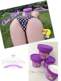 Chomnita Clear Dark - KRIM Pemutih & Pencerah Bokong / Pantat