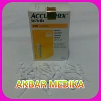 Eceran Jarum Accu Chek Softclix ( Blood Lancet )