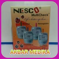 GCU Nesco 3in1( Glucose,Urid Acid, Colestrol )