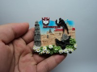 souvenir tempelan kulkas negara belgia di jakarta