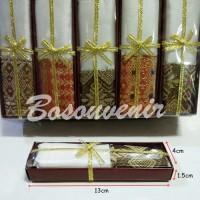 Souvenir Dompet Serut Kemasan Box