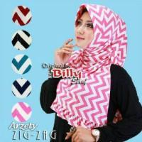 hijab jilbab kerudung arzety zigzag