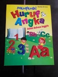 buku aktivitas / activity book mengenal huruf & angka in english