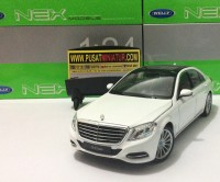 MERCEDES BENZ S-CLASS - SKALA 1:24 - WELLY (DIECAST-MINIATUR)