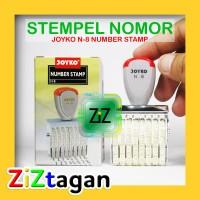 STEMPEL NOMOR 8 DIGIT JOYKO N-8 Numbering Stamp Number Bagus Termurah
