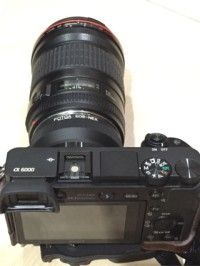 Fotga Lens Adapter Body Sony E-Mount to Lensa Canon EF