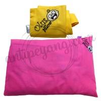 Olus Pillow Pink & Sarung Extra Kuning