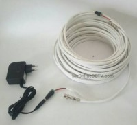 Kabel CCTV Jadi 30 meter Awet Tinggal Pasang merk LG LS Coaxial Powe