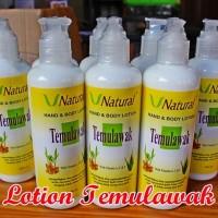 Lotion Temulawak Vnatural V Natural Original BPOM