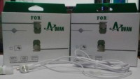 For Advan Stereo Portable Handsfree, Headset, Earphone Packing Dus