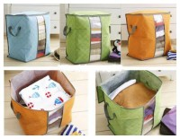 storage bag box tinggi organizer penyimpanan baju selimut sprei