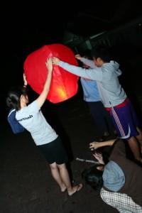 Lampion Terbang / Sky Lantern