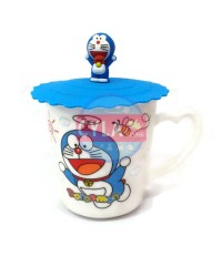 CYLAstore Doraemon Mug and Cover - Fly