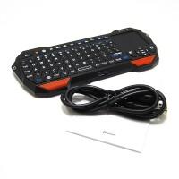 Puwei-Portable Mini Bluetooth Keyboard w/Touchpad Wireless Gaming Keyb
