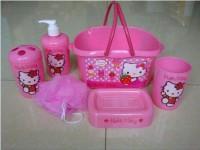 Bathroom Set - Hello Kitty