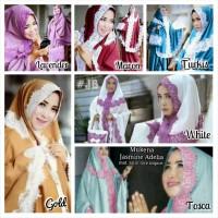 Mukena Adelia / Jasmine / Al-Ghani Replika mat.Satin Lace Import