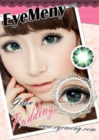 Softlens Eyemeny Pudding Green (Hijau)