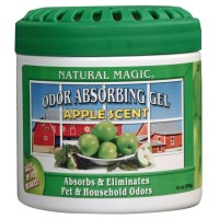 Natural Magic Odor Absorbing Gels Apple - Putih
