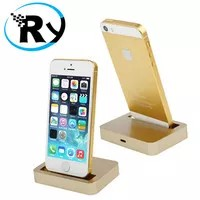 Apple Charging Dock 8 Pin for iPhone 5 5s 5c iPod touch 5 - Golden
