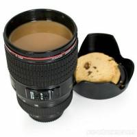 Gelas Mug Motif Lensa Kamera Canon - Lens Mug