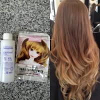 BLEACHING HAIR  /  BLEACHING RAMBUT