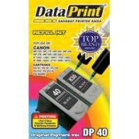 Tinta Suntik Dataprint Hitam DP40 - Printer CANON