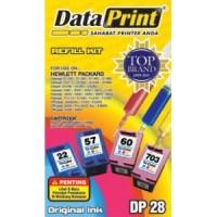Tinta Suntik Dataprint 3 Warna DP28 - Printer HP