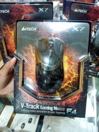 A4tech X7 F4 3000dpi Macro Gaming Mouse