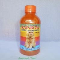 Shampoo Anti Kutu Kucing RAINBOW CAT 250ml