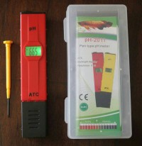 pH Meter Air Digital - pH-2011 ATC (Alat Ukur Asam Basa Air)