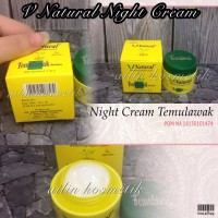 [NIGHT/MALAM] CREAM TEMULAWAK V NATURAL / VNATURAL