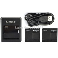 Kingma Xiaomi Yi Charger kit, 1 Pcs baterai + 1 charger