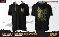 SNK Gold T-Shirt Hood (Kaos Hoodie - KHA SNK 04)