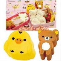 Cetakan Roti Sandwich Beruang Rilakkuma Bread Mold Alat Bento Tool