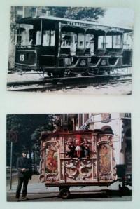 Kartu pos jadul / Oldist postcard edisi mobil kuno / Classic Oto