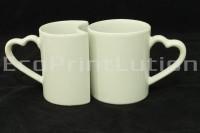 Bahan Mug | Couple White
