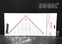 harga Ziegel - penggaris segitiga pegangan Tokopedia.com