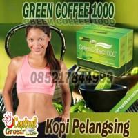 GREEN COFFEE 1000 Kopi Pelangsing Herbal