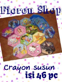 Crayon set segi 6 enam 46pcs 46 pcs art set warna color