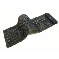 Keyboard Flexible with Numeric Keypad, Numpad, Full Size, Portable USB