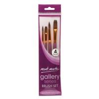 Mont Marte Gallery Series Brush Watercolour Set 4