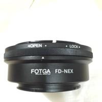 Fotga Lens adapter , lensa Canon FD to Body Sony E Mount ( NEX )