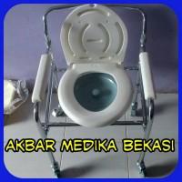 Commode Chair Dengan Roda (Kursi BAB) SELLA KY696
