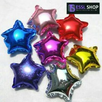 Balon Foil Bintang Mini by Esslshop